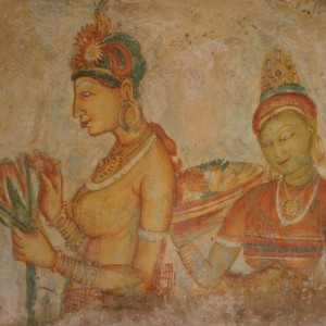 Anuradhapura Rock Paintings - Sri Lanka