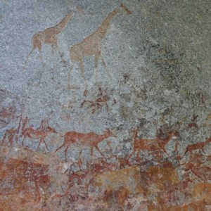 San Rock Paintings - Zimbabwe