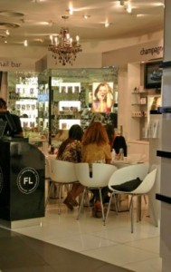 SpaceNK Nail Bar @ Harvey Nichols