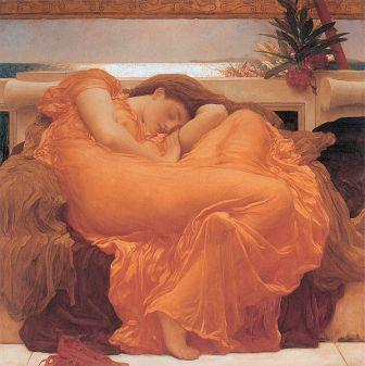 Flaming June by Fredrick Lord Leighton