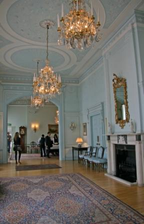 The main reception area