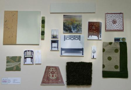 Green Sample Board