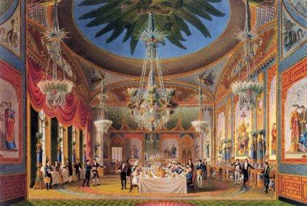 Brighton Pavilion Dining Room