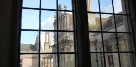 Kirby Hall - View From Great Chamber