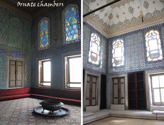 Ornate chambers