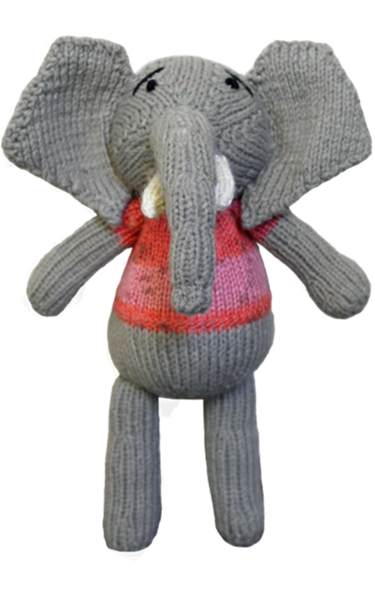 Knitted Toy - Elephant