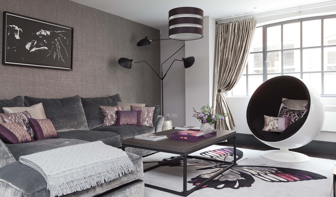 Luxury west end apartment for Interior designs london