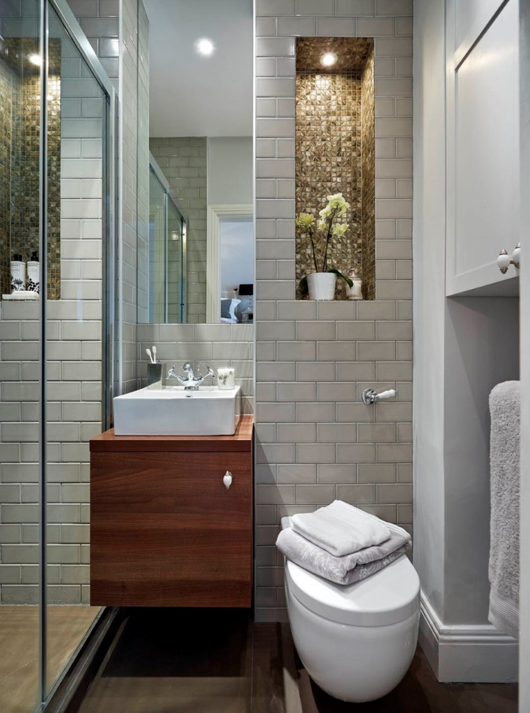 City bathroom Tiny bathroom designs uk