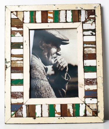 Picture Frame - Mosaic Green