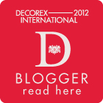 Decorex 2012 Blogger Badge